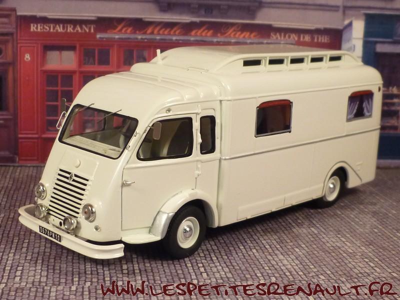 les petites renault renault 1000kg camping car notin 1951. Black Bedroom Furniture Sets. Home Design Ideas