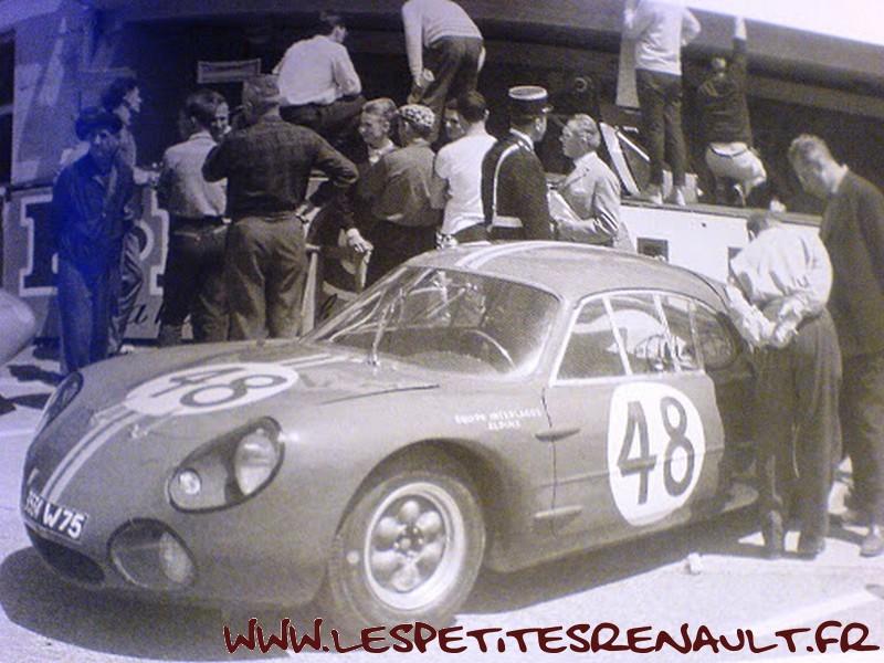 Les Petites Renault Alpine M63 Le Mans 1963