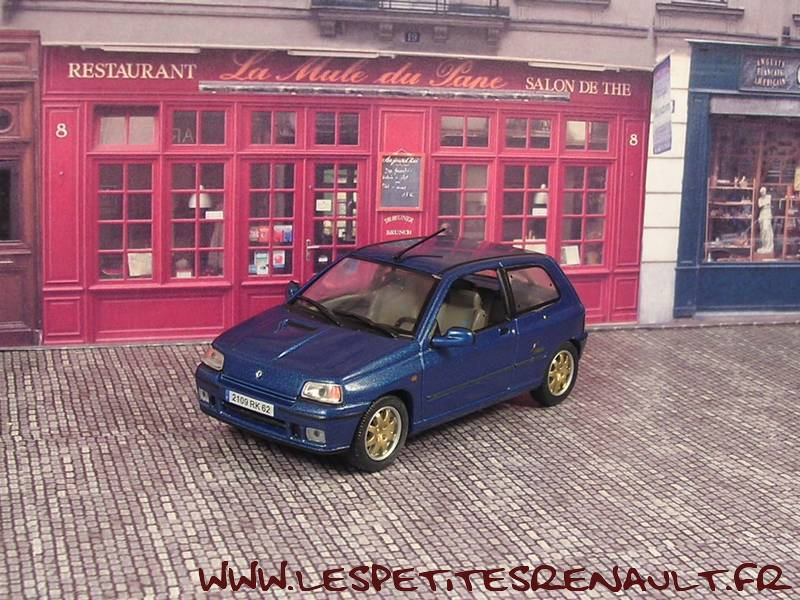 les petites renault renault clio williams swiss champion 1996. Black Bedroom Furniture Sets. Home Design Ideas
