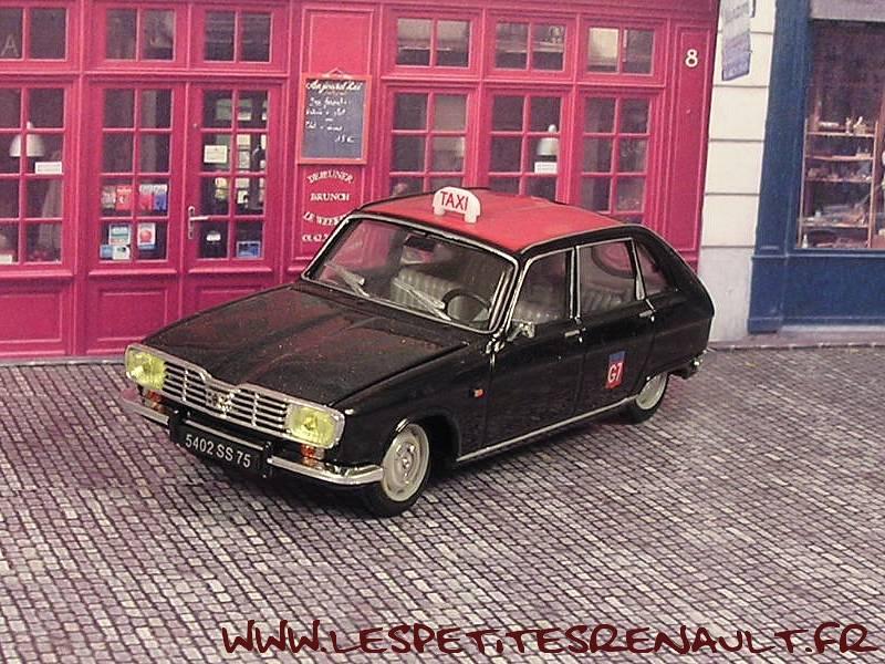 les petites renault renault 16 taxi g7 1966. Black Bedroom Furniture Sets. Home Design Ideas