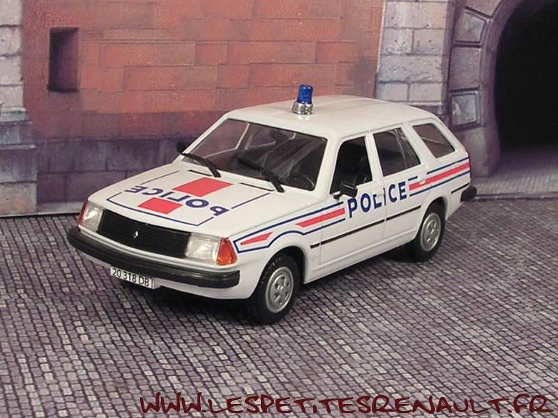 les petites renault renault 18 break police 1985. Black Bedroom Furniture Sets. Home Design Ideas