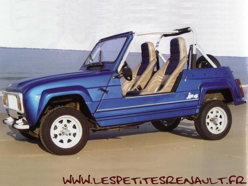 """Les Petites Renault - Renault JP4 """"Be Bop"""" 1983"""