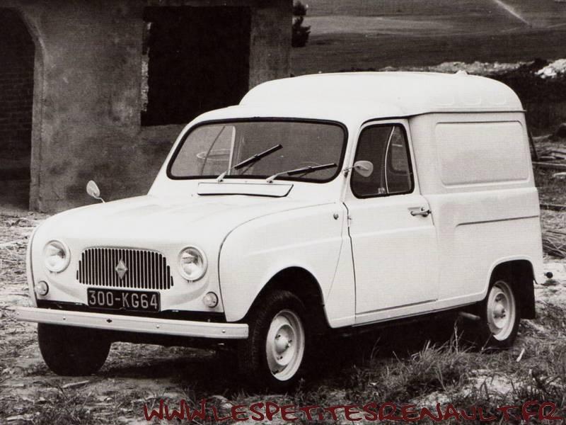 les petites renault renault 4 fourgonnette 1962. Black Bedroom Furniture Sets. Home Design Ideas
