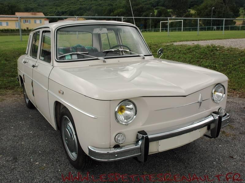 Les Petites Renault Renault 8 Major 1965