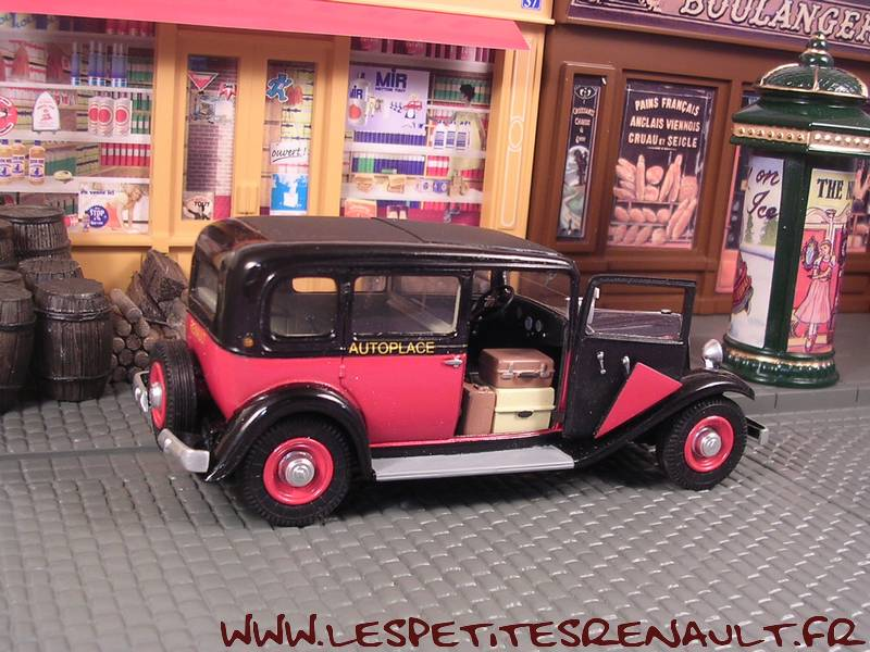 les petites renault renault kz11 taxi g7 autoplace 1933. Black Bedroom Furniture Sets. Home Design Ideas