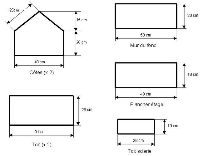 r alisation d 39 un hangard pour v hicules agricoles 1 32eme. Black Bedroom Furniture Sets. Home Design Ideas
